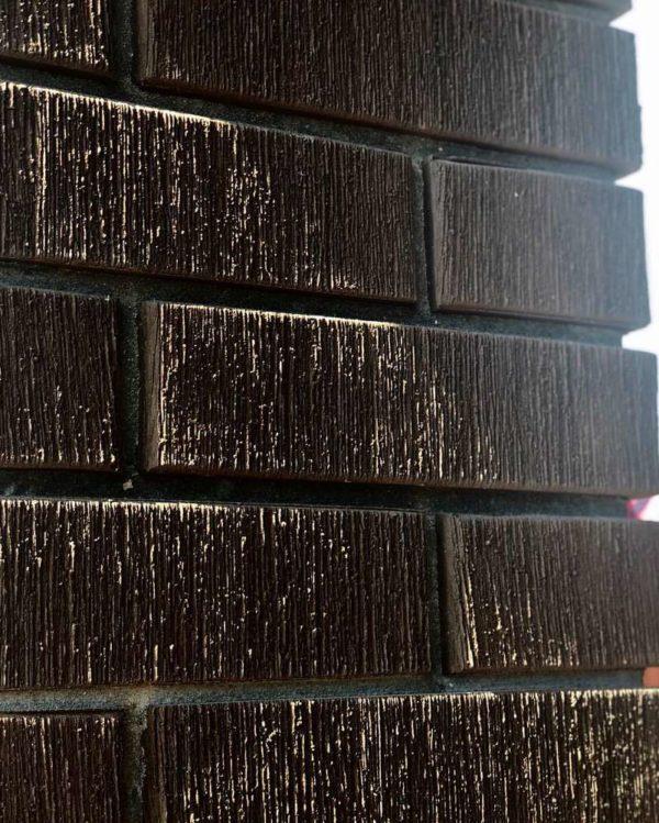 Кирпич тёмно-коричневый бархат 0,7НФ Евро ЖКЗ 250х85х65