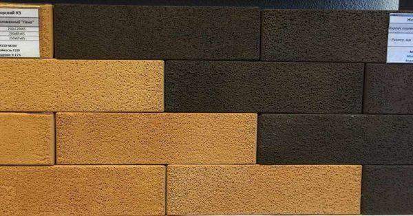 Кирпич тёмно-коричневый пена 0,7НФ Евро ЖКЗ 250х85х65
