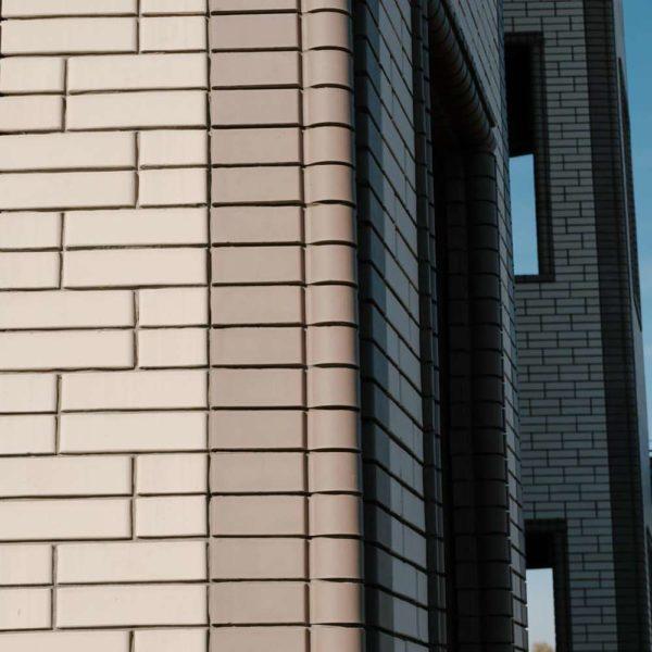 Кирпич фасонный лицевой КФ-2 Серый 1,4НФ ЖКЗ 250х120х88
