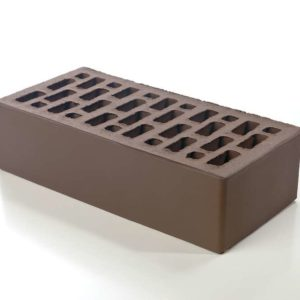 Кирпич Браер светло-коричневый гладкий 1NF 250х120х65