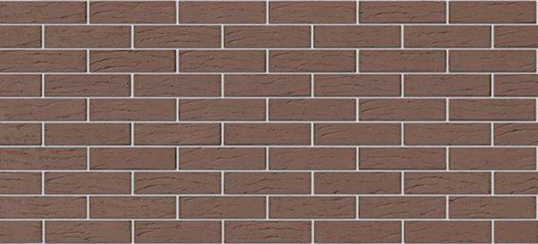 Кирпич Браер светло-коричневый рифлёный 0,7NF Евро 250х85х65