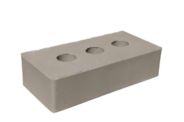 Кирпич серый полнотелый 1НФ ЖКЗ 250х120х65