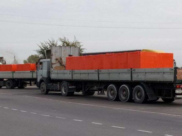 Газосиликатные блоки ВКСМ Воронеж 600x300x200 на поддоне в плёнке