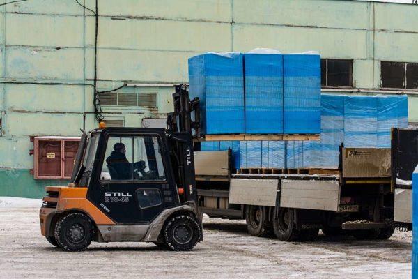 Газобетонные блоки НЛМК Липецк Hebel 600x250x150 на поддоне в плёнке
