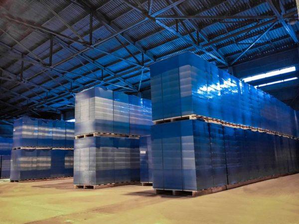 Газобетонные блоки НЛМК Липецк Hebel 600x200x250 на поддоне в плёнке