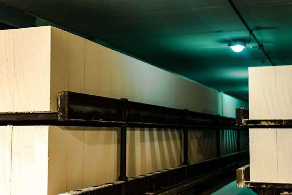 Газобетонные блоки НЛМК Липецк Hebel 600x250x400 на поддоне в плёнке