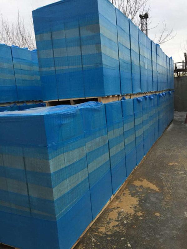 Газобетонные блоки НЛМК Липецк Hebel 600x250x375 на поддоне в плёнке
