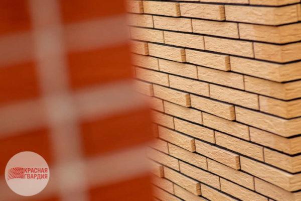 Кирпич жёлтый 1НФ Rock Красная Гвардия 250х120х65