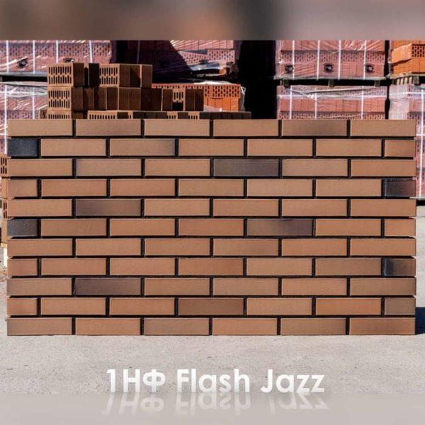 Кирпич Flash Jazz Джаз 1НФ Баварская кладка 250х120х65