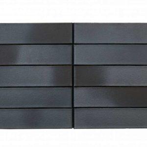 Кирпич Рекке RECKE BRICKEREI 5-32-00-0-00 чёрный ангоб на коричневом 1НФ 250х120х65
