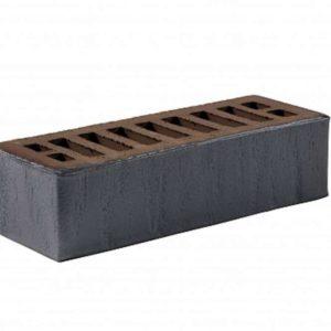 Кирпич Рекке RECKE 5-32-00-2-00 чёрный ангобированный евро 0,7НФ 250х85х65