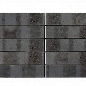 Кирпич Рекке RECKE BRICKEREI серия Krator 5-32-00-0-12 чёрный с торкретом 1НФ 250х120х65