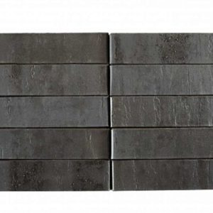 Кирпич Рекке RECKE BRICKEREI серия Krator 5-32-00-2-12 чёрный с торкретом 1НФ 250х120х65