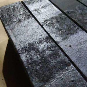 Кирпич Рекке RECKE серия Krator 5-32-00-2-12 чёрный с торкретом евро 0,7НФ 250х85х65