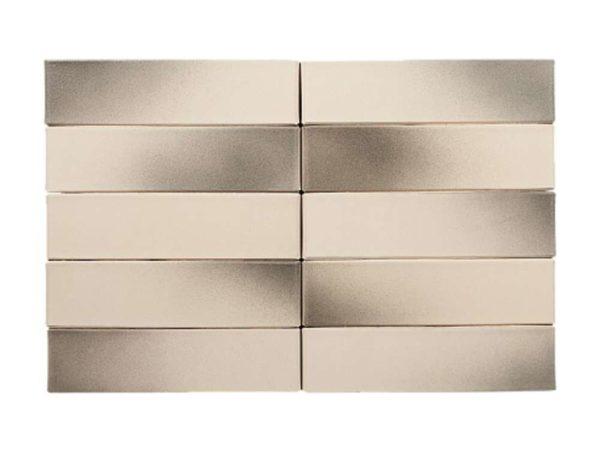 Кирпич Рекке RECKE BRICKEREI 1-51-00-0-00 пепельно-серый на белом евро 0,7НФ 250х85х65