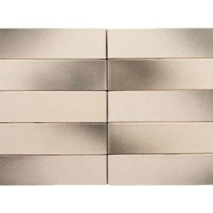 Кирпич Рекке RECKE BRICKEREI 1-51-00-0-00 пепельно-серый на белом 1НФ 250х120х65