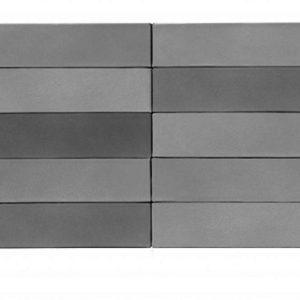 Кирпич Рекке RECKE BRICKEREI 5-82-00-0-00 серебристо-серый на сером 1НФ 250х120х65