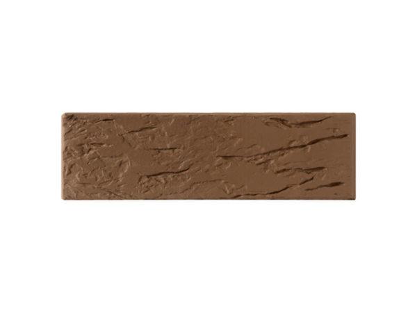 Кирпич коричневый Рустик 0,7НФ ОСМиБТ Старый Оскол Евро 250х85х65