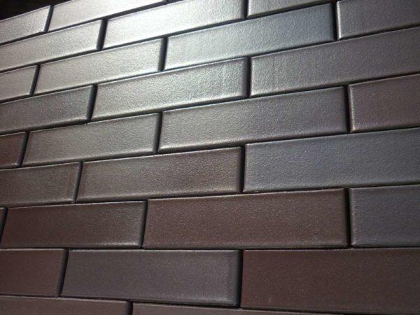 Кирпич Рекке RECKE BRICKEREI 5-72-00-0-00 коричнево-бордовый сплошной евро 0,7НФ 250х85х65