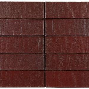Кирпич Рекке RECKE BRICKEREI 5-92-00-2-00 винно-красный сплошной 1НФ 250х120х65