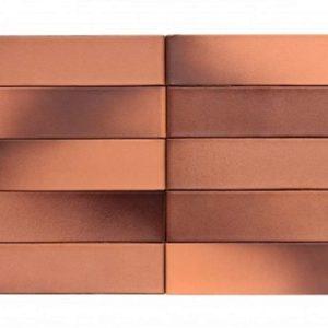 Кирпич Рекке RECKE BRICKEREI 6-21-00-0-00 пурпур на персике (красная Охра) 1НФ 250х120х65