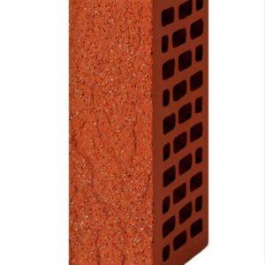 Кирпич лицевой красный дуб, с песком 1NF
