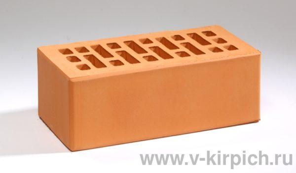 Кирпич лицевой керамический утолщенный персиковый М175 Воротынский