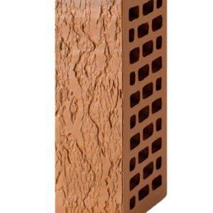 Кирпич лицевой коричневый лава 1NF