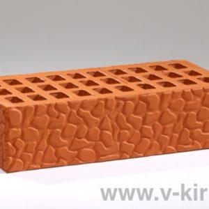 Кирпич лицевой керамический одинарный красный черепашка М150 ГОСТ 530-2012