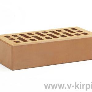 Кирпич лицевой керамический одинарный крафт М175 ГОСТ 530-2012