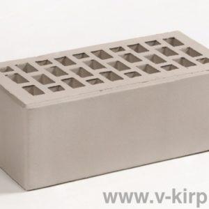 Кирпич лицевой керамический утолщенный серебро М175 ГОСТ 530-2012