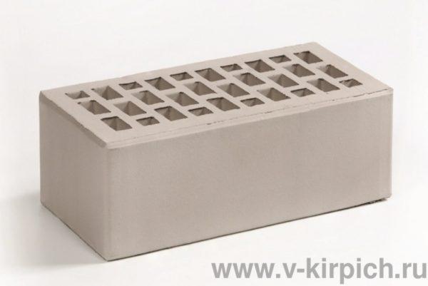 Кирпич лицевой керамический утолщенный серебро М175 Воротынский