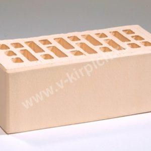 Кирпич лицевой керамический утолщенный слоновая кость М175 ГОСТ 530-2012