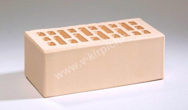 Кирпич лицевой керамический утолщенный слоновая кость М175 Воротынский
