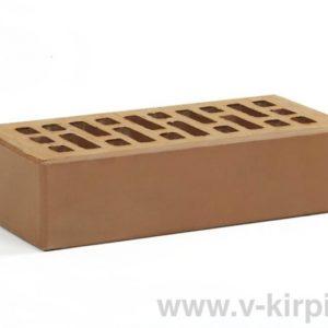 Кирпич лицевой керамический одинарный коричневый М150 ГОСТ 530-2012