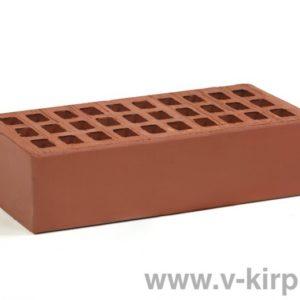 Кирпич лицевой керамический одинарный бордо М150 ГОСТ 530-2012
