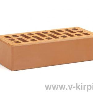 Кирпич лицевой керамический одинарный гляссе М175 ГОСТ 530-2012