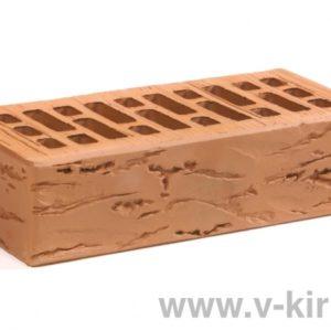 Кирпич лицевой керамический одинарный гляссе руст М175 ГОСТ 530-2012