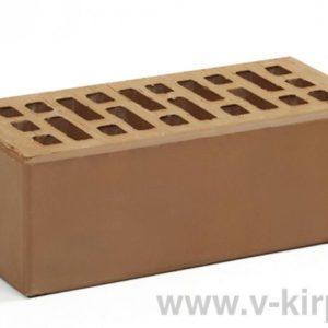 Кирпич лицевой керамический утолщенный коричневый М150 ГОСТ530-2012