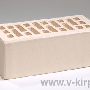 Кирпич лицевой керамический утолщенный белый жемчуг М175 ГОСТ 530-2012