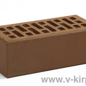 Кирпич лицевой керамический утолщенный терракотовый М150 ГОСТ 530-2012