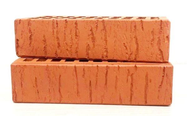 Кирпич лицевой керамический одинарный красный скала М150 Воротынск