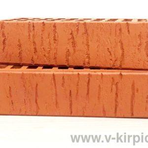 Кирпич лицевой керамический одинарный красный скала М150 ГОСТ 530-2012