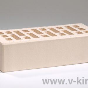 Кирпич лицевой керамический одинарный белый жемчуг М175 ГОСТ 530-2012