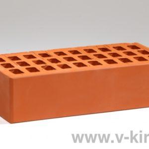 Кирпич лицевой керамический одинарный красный М150 2020г.ГОСТ 530-2012