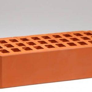 Кирпич лицевой керамический одинарный красный М150 Воротынский
