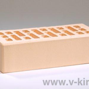 Кирпич лицевой керамический одинарный слоновая кость М175 ГОСТ 530-2012