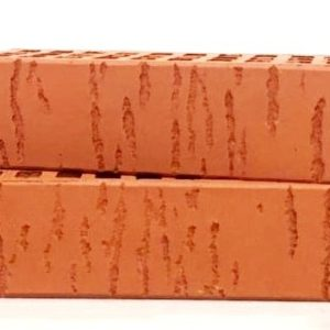 Кирпич лицевой керамический одинарный красный береза М150 Воротынский