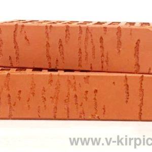 Кирпич лицевой керамический одинарный красный береза М150 ГОСТ 530-2012