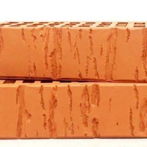 Кирпич лицевой керамический одинарный красный кора М150 Воротынский